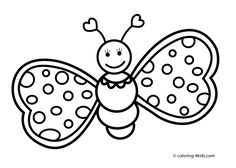 baby butterfly coloring pages butterfly coloring pages for kids baby butterfly pages coloring