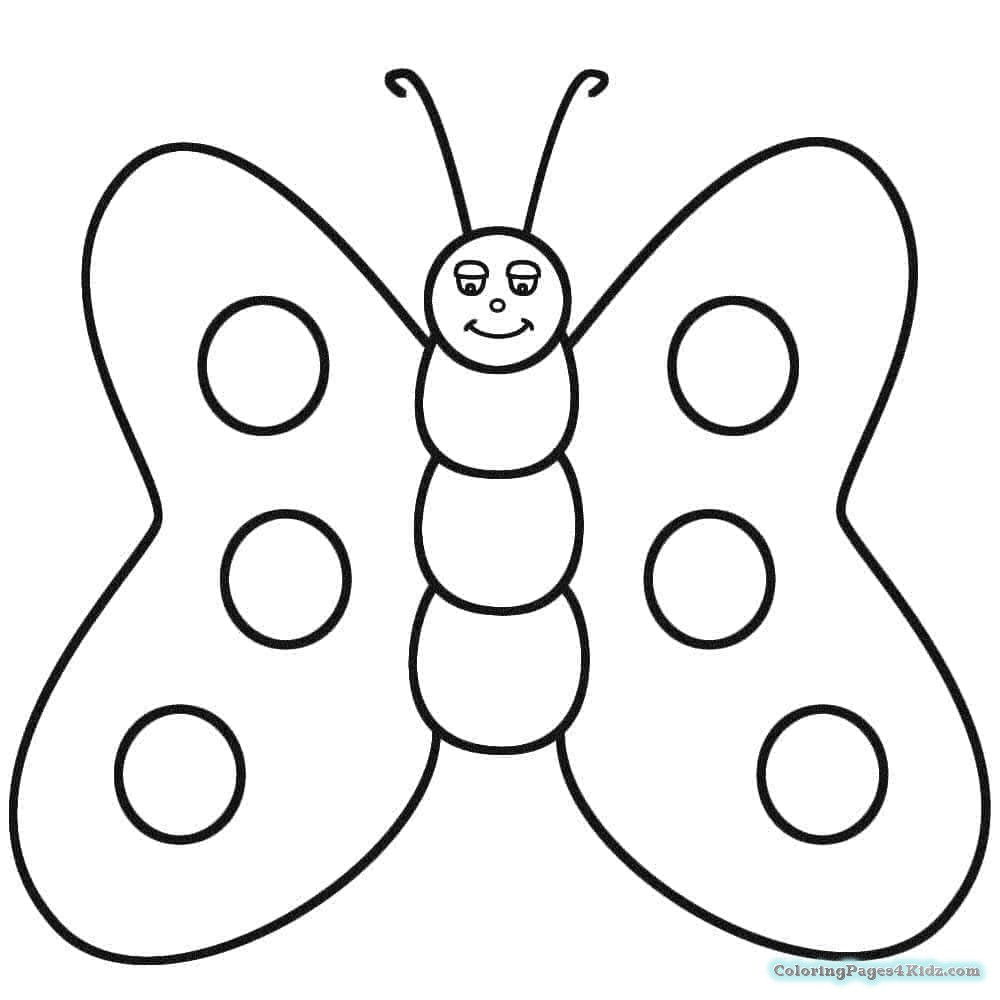 baby butterfly coloring pages cute butterfly coloring pages for baby coloring pages butterfly baby pages coloring