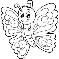 baby butterfly coloring pages front view butterfly coloring page wecoloringpagecom baby pages coloring butterfly