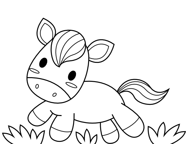baby horse coloring pages baby horse coloring page free coloring pages online horse baby coloring pages