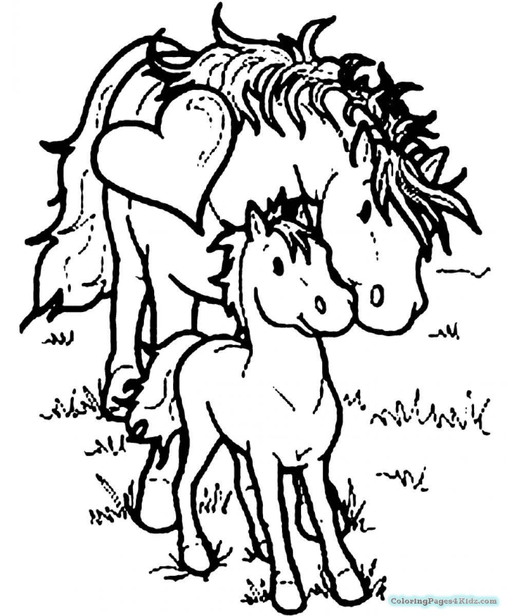 baby horse coloring pages baby horse coloring page free printable coloring pages coloring baby horse pages
