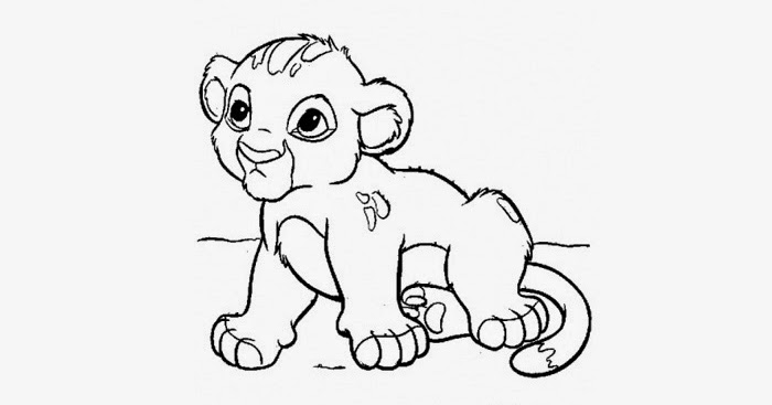 baby lion coloring pictures baby lion coloring pages baby pictures coloring lion