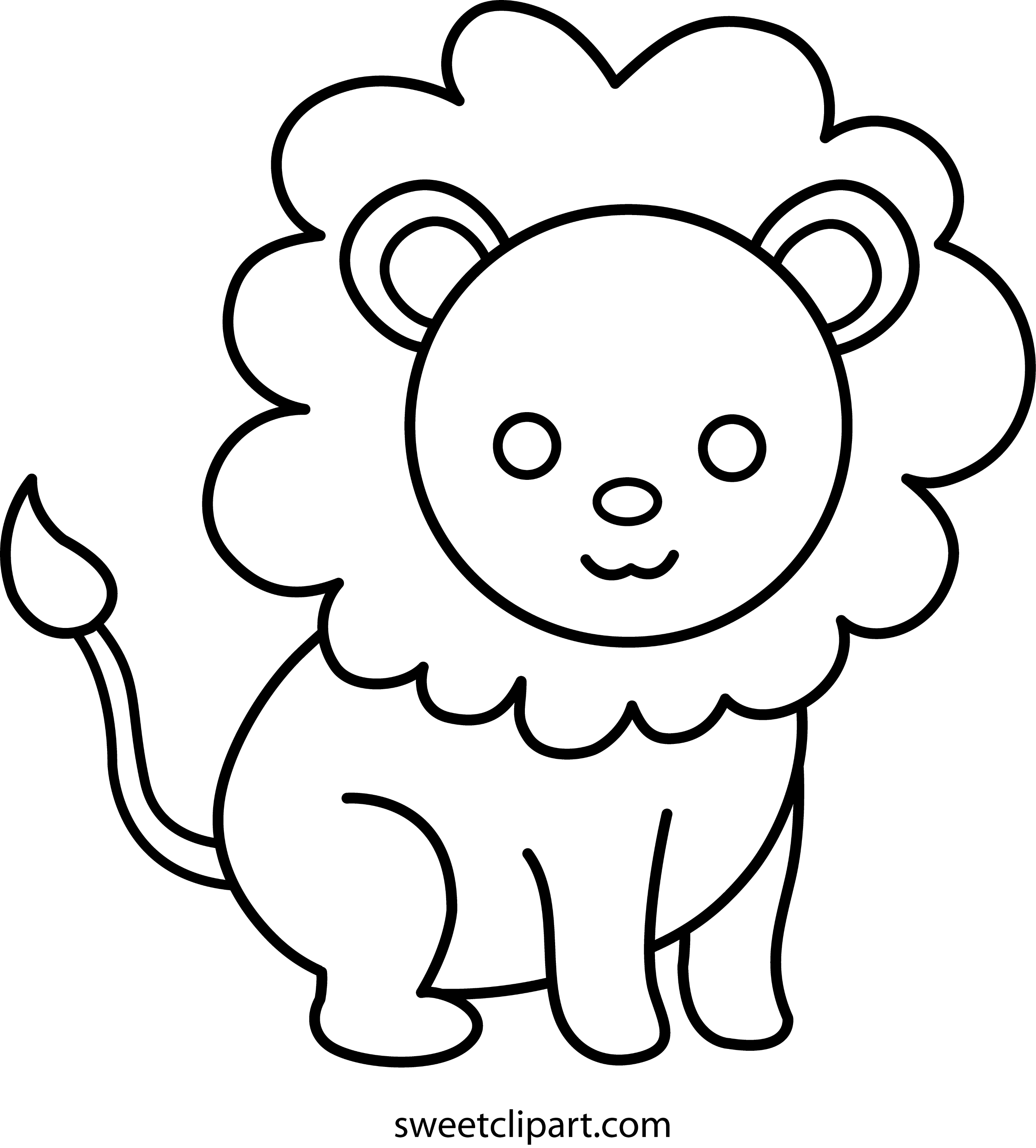 baby lion coloring pictures babyliaon coloring pages learny kids baby lion coloring pictures