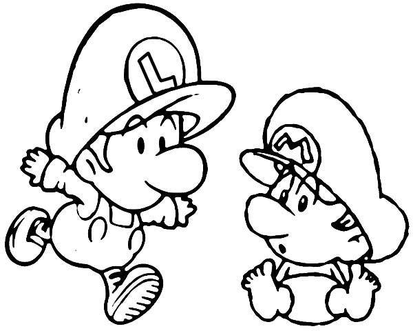 baby luigi pictures baby luigi drawing at getdrawings free download luigi pictures baby