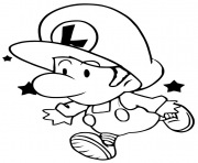 baby luigi pictures cartoon mario bros sa16d coloring pages printable pictures luigi baby