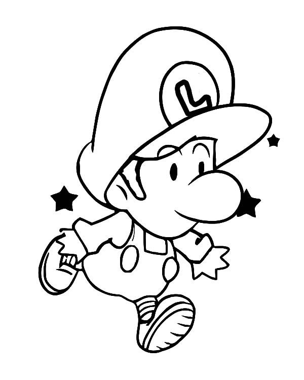 baby luigi pictures how to draw baby luigi step by step video game luigi pictures baby