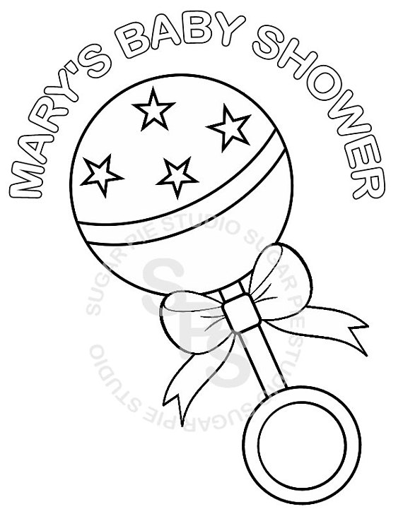 baby rattle coloring page 6 best images of baby rattler printable color pages baby coloring page rattle baby