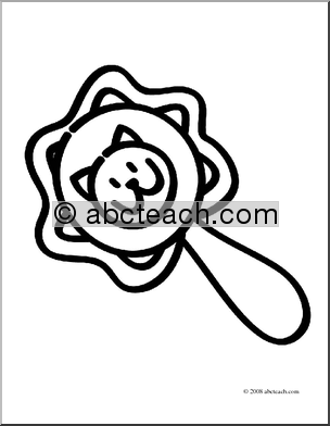 baby rattle coloring page baby clip art baby clipart images of babies page baby coloring rattle