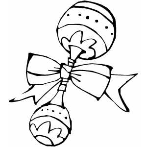 baby rattle coloring page free coloring page clipart image 0515 1002 1923 4753 rattle baby coloring page