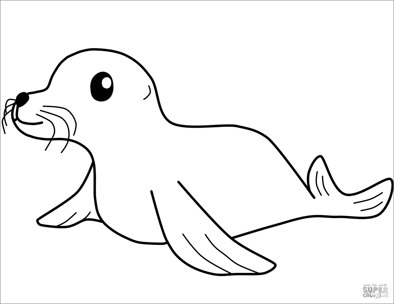 baby seal coloring pages baby seal on an ice floe coloring page free coloring library coloring seal pages baby
