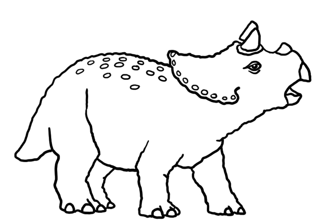 baby triceratops coloring page cartoon clipart of a black and white baby triceratops coloring baby page triceratops