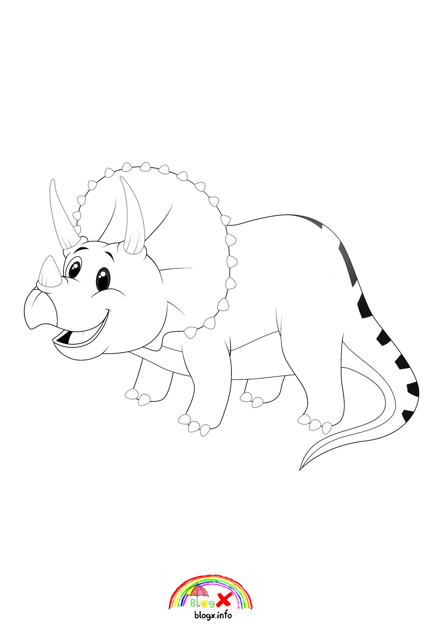 baby triceratops coloring page cute baby triceratops dinosaurs coloring page blogxinfo page baby coloring triceratops