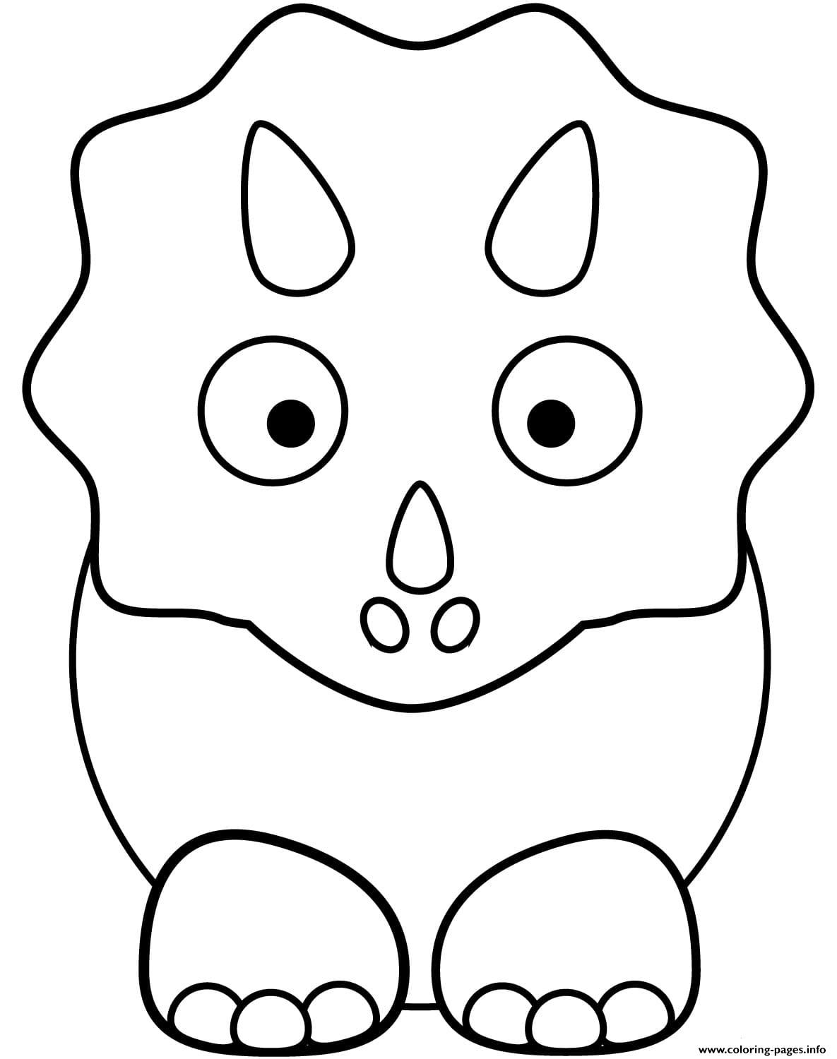baby triceratops coloring page cute triceratops baby coloring pages printable page coloring baby triceratops