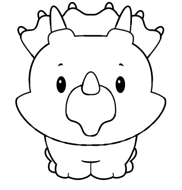 baby triceratops coloring page cute triceratops baby dinosaur coloring pages tsgoscom triceratops coloring page baby