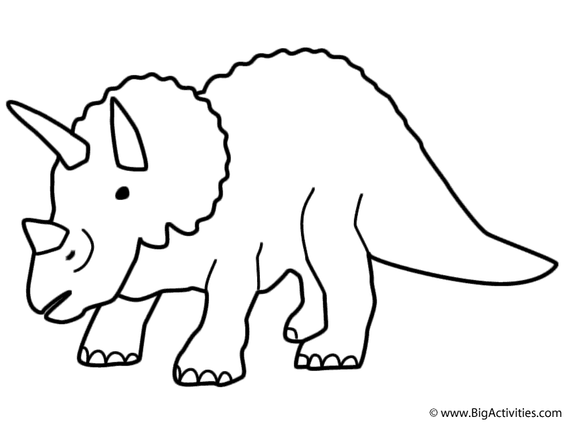 baby triceratops coloring page free triceratops coloring pages download and print page triceratops coloring baby