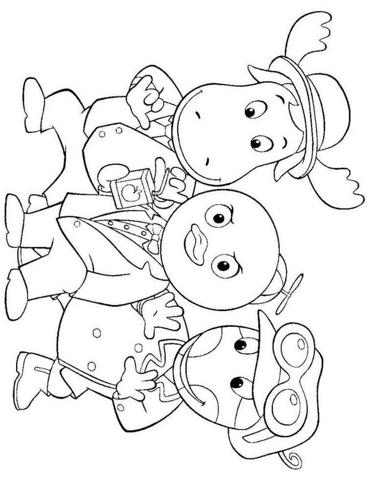 backyardigans coloring pages backyardigans coloring pages free coloring home coloring backyardigans pages