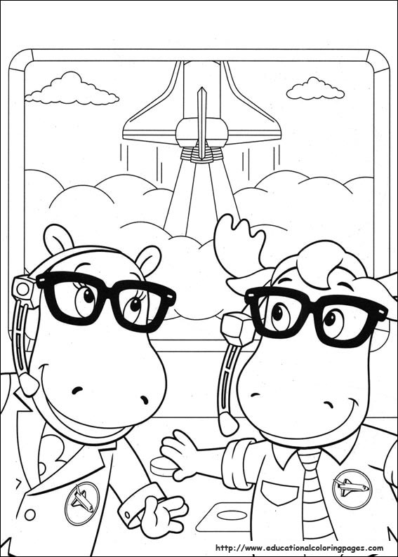 backyardigans coloring pages the backyardigans all characters coloring page kids play coloring backyardigans pages