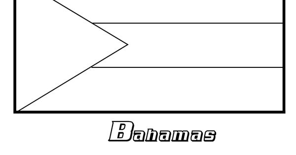 bahamian flag coloring page httpwwwcoloring pages book for kids boyscomimages67 flag page coloring bahamian