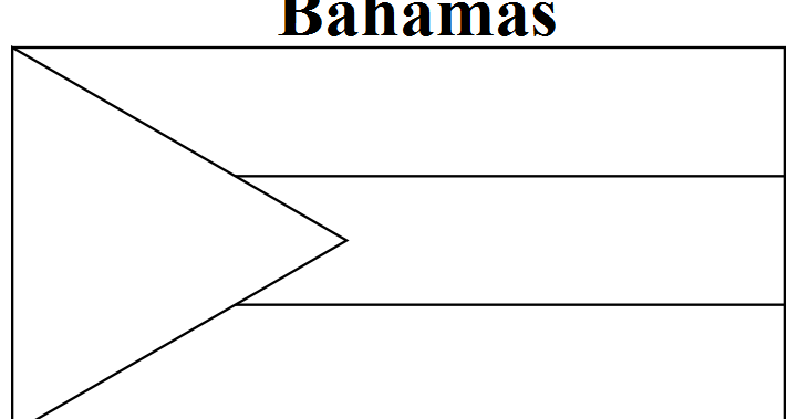 bahamian flag coloring page the geography blog bahamas flag coloring page page flag bahamian coloring