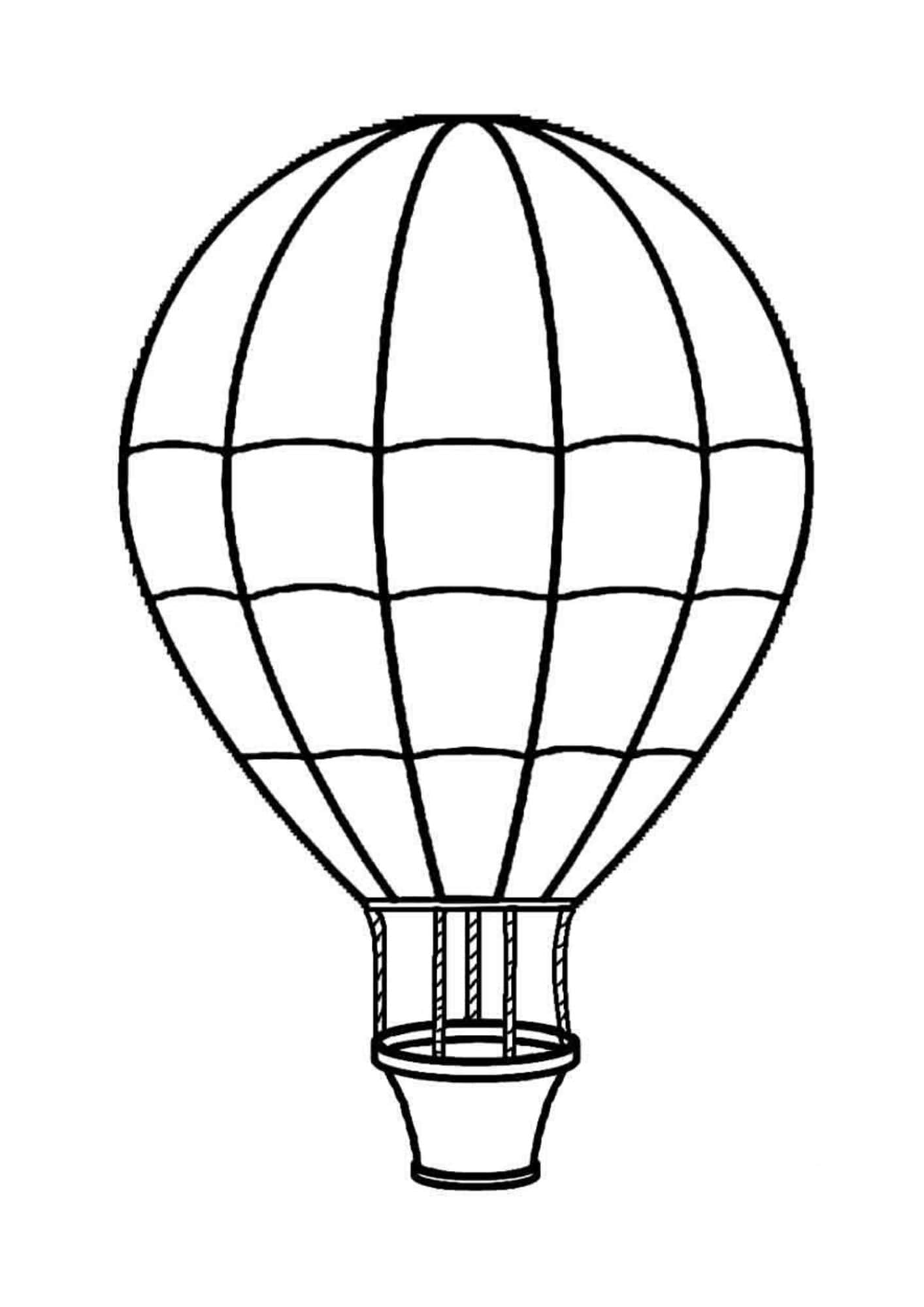 balloon sketch line drawing of balloons at getdrawings free download balloon sketch