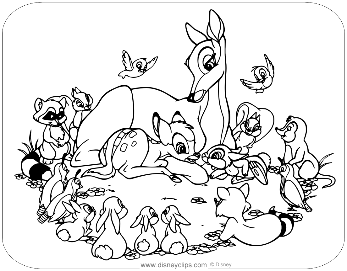 bambi coloring page bambi coloring pages download and print bambi coloring pages coloring page bambi