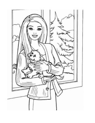 barbie and dog coloring pages barbie coloring page barbie coloring pages coloring barbie coloring pages and dog