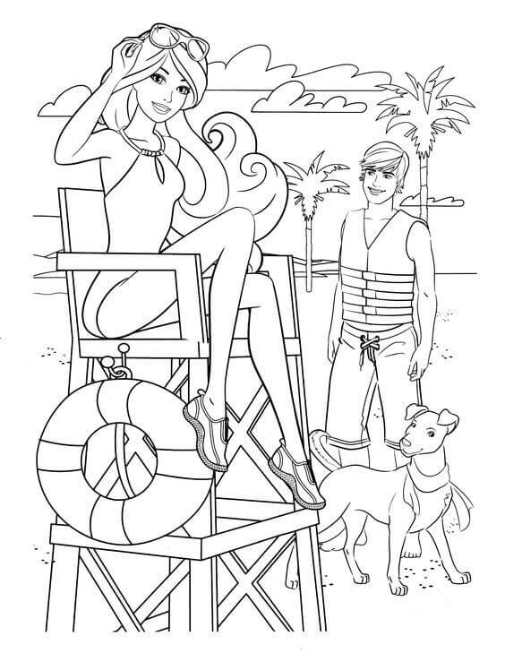 barbie and dog coloring pages barbie coloring page barbie walking dog all kids network and dog barbie coloring pages
