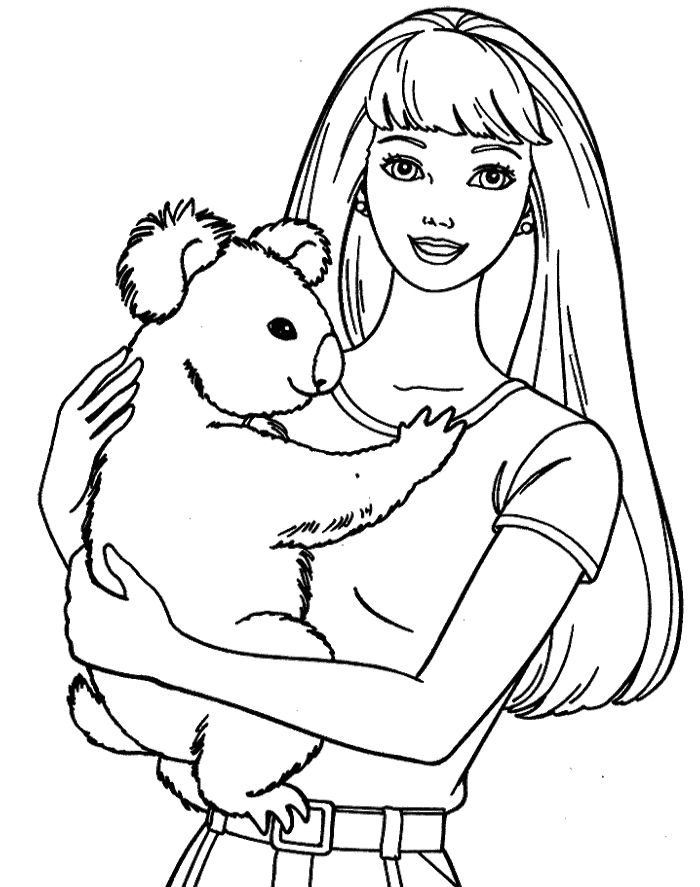 barbie and dog coloring pages bcpid32 barbie coloring pages images dogs today pages barbie dog coloring and