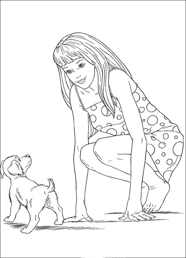 barbie and dog coloring pages coloring smart printable coloring pages for your kids coloring and barbie dog pages