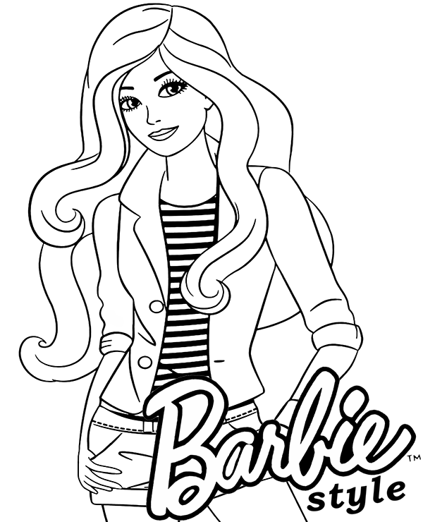 barbie doll pictures to print barbie birthday coloring pages at getcoloringscom free print to pictures doll barbie