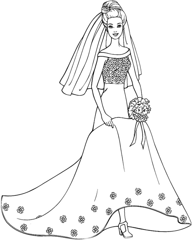 barbie doll pictures to print barbie coloring page barbie coloring pages mermaid barbie print pictures to doll