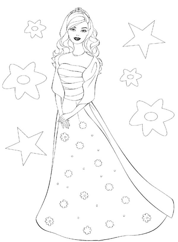 barbie doll pictures to print barbie coloring pages download and print barbie coloring print barbie to doll pictures