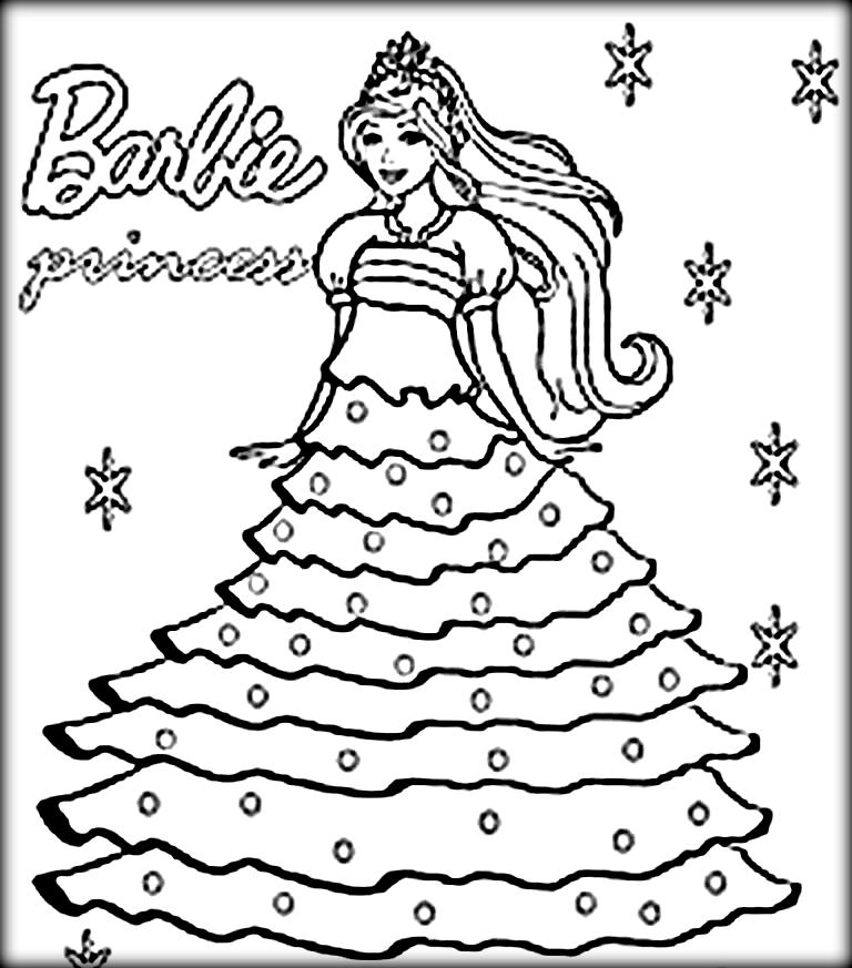 barbie doll pictures to print barbie coloring pages printable to download print barbie doll pictures to