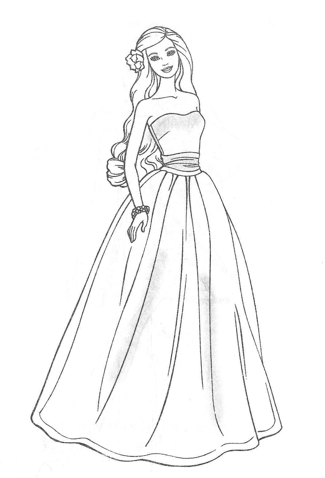 barbie doll pictures to print barbie princess coloring pages cool2bkids barbie to print pictures doll