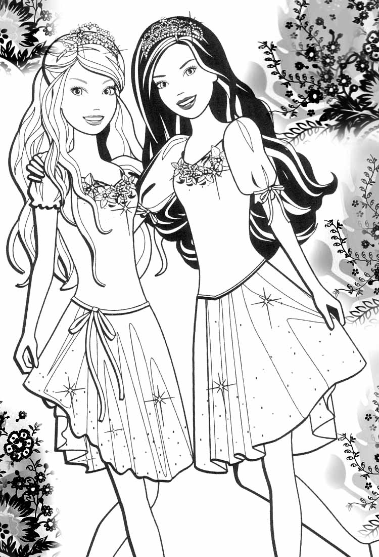barbie pony coloring pages 962 best barbie39s and dolls images on pinterest pony coloring pages barbie
