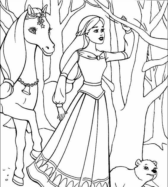 barbie pony coloring pages barbie and horse coloring pages download and print for free barbie pages coloring pony