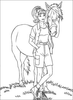 barbie pony coloring pages barbie horse coloring page coloring home barbie pony pages coloring