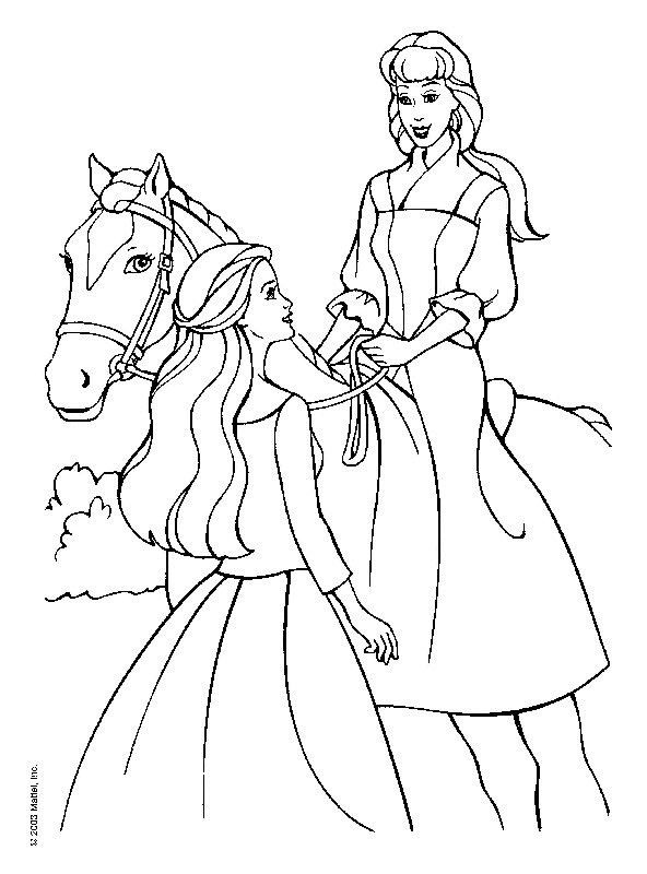 barbie pony coloring pages barbie horse coloring pages bestappsforkidscom barbie pony coloring pages