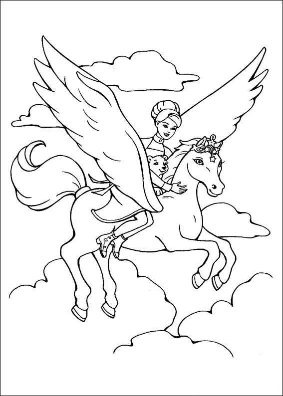barbie pony coloring pages barbie horse coloring pages coloring home pony barbie coloring pages