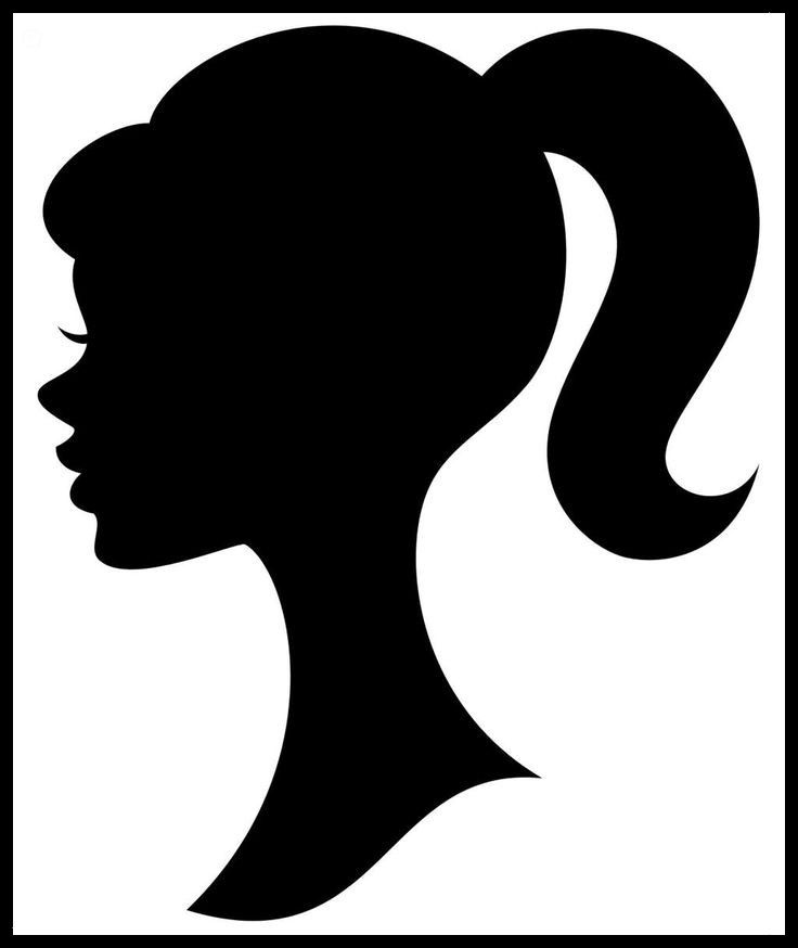 barbie silhouette barbie silhouette barbie silhouette