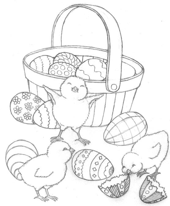basket of easter eggs coloring page basket of easter eggs colouring page basket page of eggs easter coloring