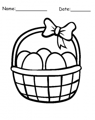 basket of easter eggs coloring page easter basket coloring page tracing twisty noodle coloring eggs page of easter basket