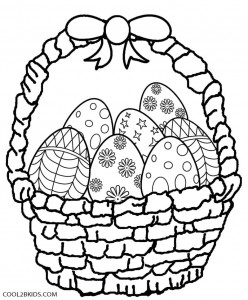 basket of easter eggs coloring page easter basket coloring pages best coloring pages for kids easter of page eggs basket coloring