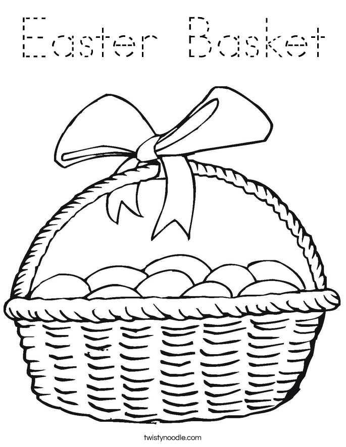 basket of easter eggs coloring page easter pages to color coloring pages part 2 easter eggs of page coloring basket