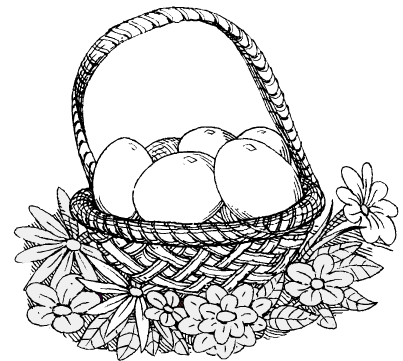 basket of easter eggs coloring page faberge egg style easter egg printable coloring page easter page basket coloring eggs of
