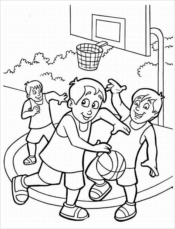 basketball coloring page basketball coloring pages customize and print pdfs basketball page coloring