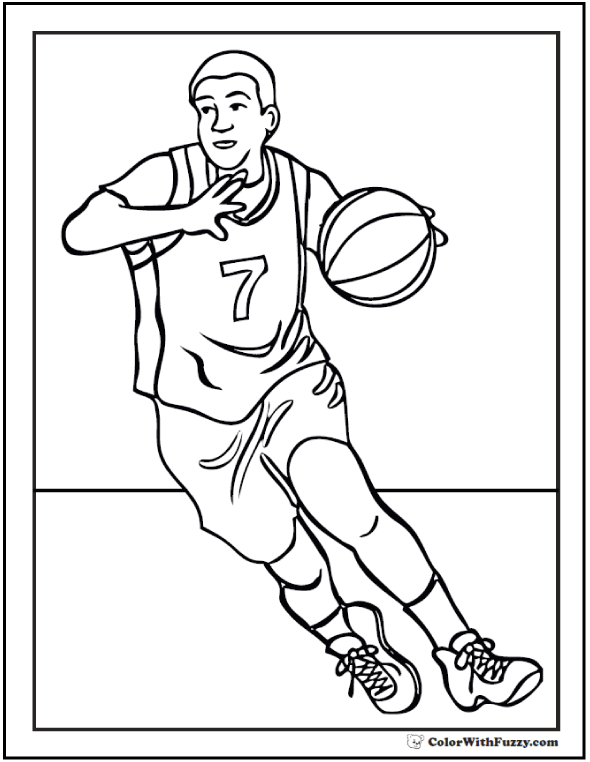 basketball coloring page coloring pages basketball players coloring home page coloring basketball