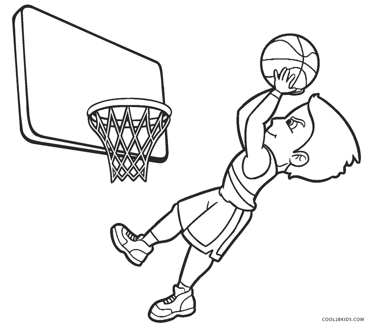 basketball coloring page cool basketball coloring pages transparent cartoon free basketball page coloring