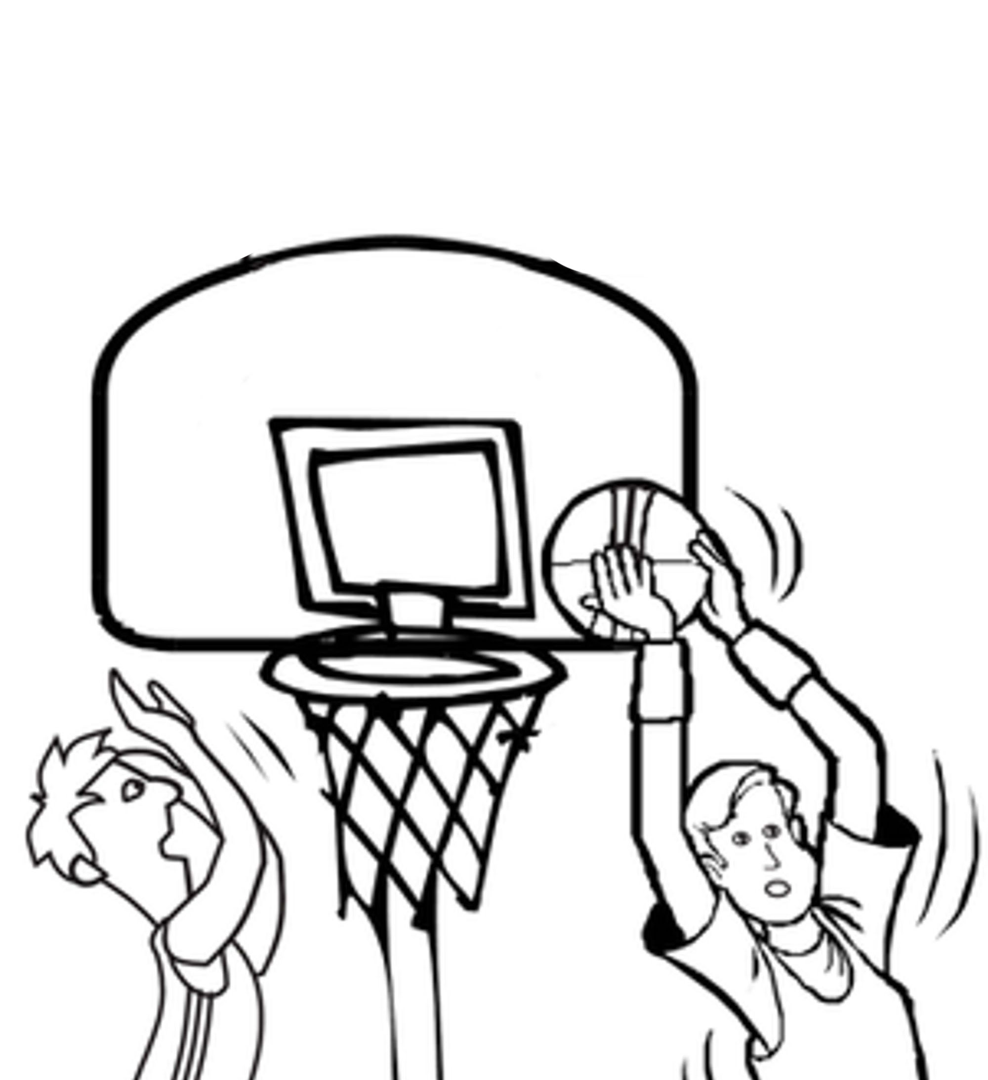 basketball coloring page get this printable basketball coloring pages 808705 coloring page basketball