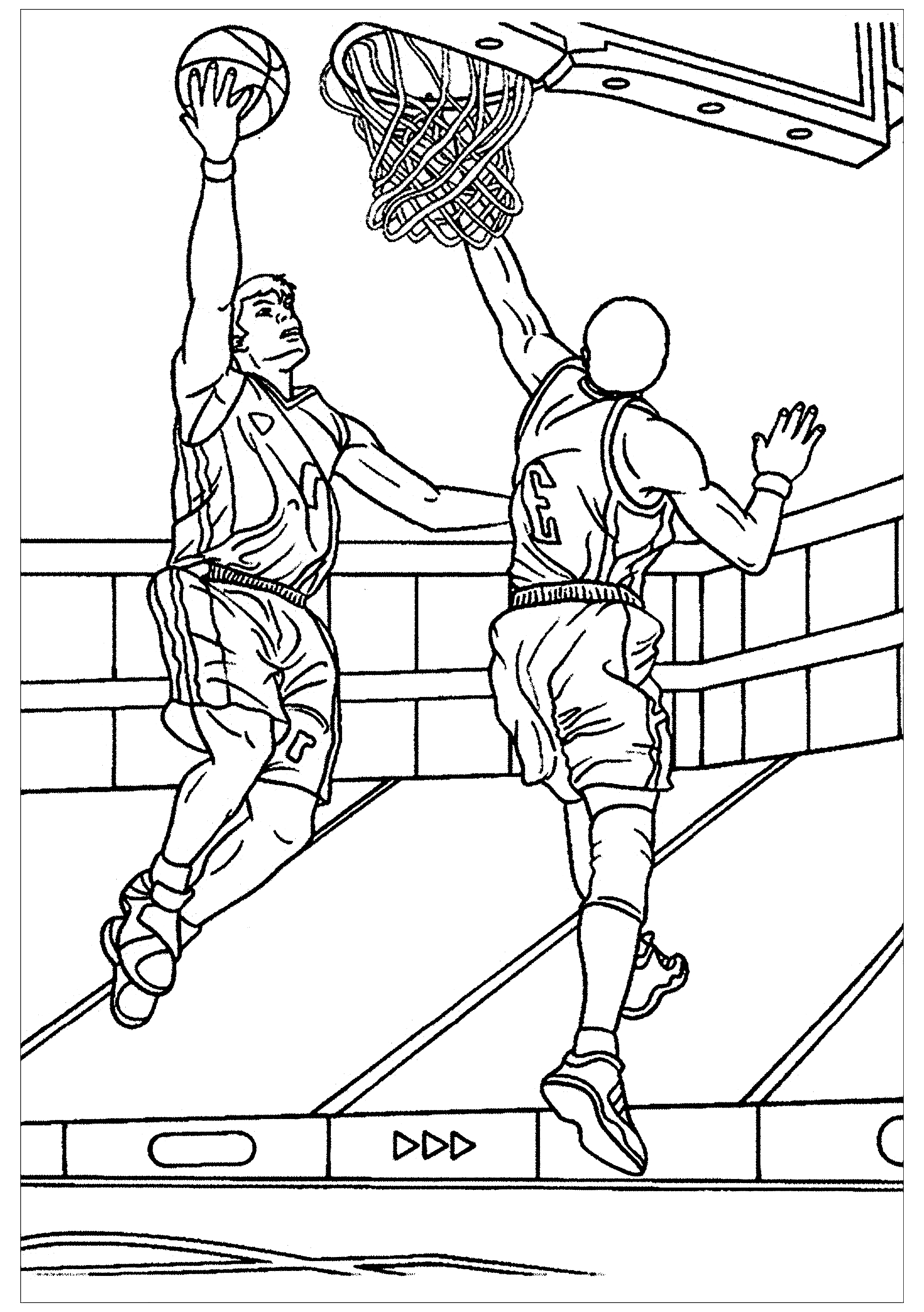 basketball pictures to color basketball coloring pages for adults coloring home basketball color pictures to